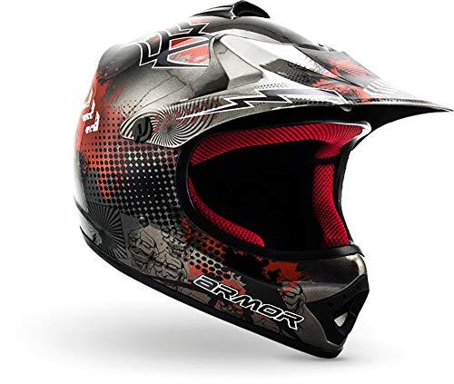 ARMOR Helmets AKC-49 Kinder-Cross-Helm, Schnellverschluss Tasche