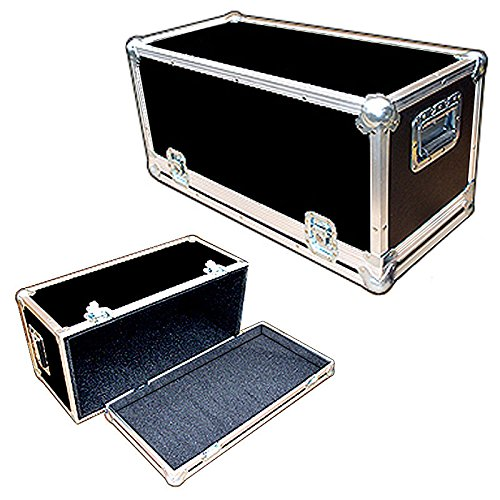 Head Amplifier 1/4 Ply Light Duty ATA Case with All Recessed Hardware Fits SWR Workingman's 4004 Bass ()