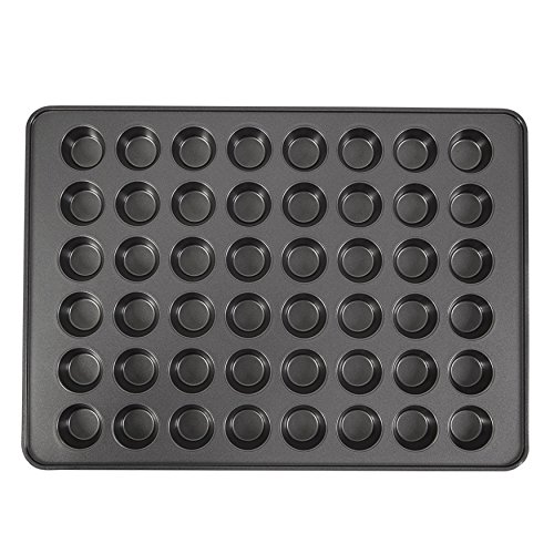 Wilton Perfect Results Premium Non-Stick Mega Mini Muffin and Cupcake Pan, 48-Cup