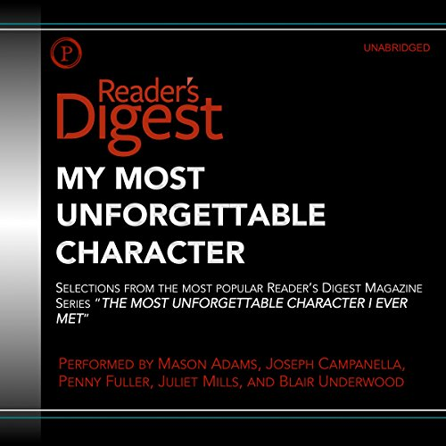 Review My Most Unforgettable Character: