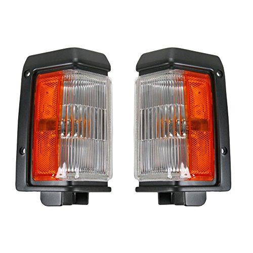 Side Corner Parking Light Set Pair for Nissan Pathfinder D21 Pickup Truck