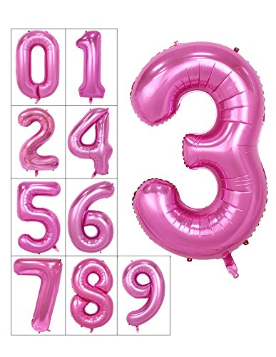 40-inch-numbers-0-9-pink-helium-foil-digital-mylar-balloons-for-birthday-party-number-3