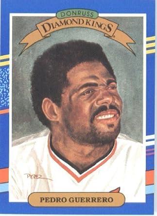 Amazoncom 1991 Donruss Baseball Card 25 Pedro Guerrero