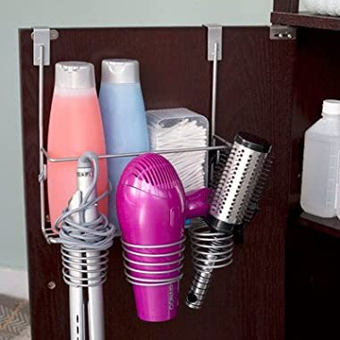 Home Basics Over The Counter Hairdryer Holder