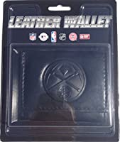 Denver Nuggets Black Leather Wallet