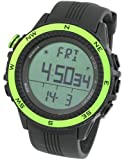 [LAD WEATHER] German Sensor Digital Compass Altimeter Barometer Stopwatch Alarm Weather Forecast/ Multifunction/ Outdoor Sport Watches (Climbing/ Hiking/ Running/ Walking)