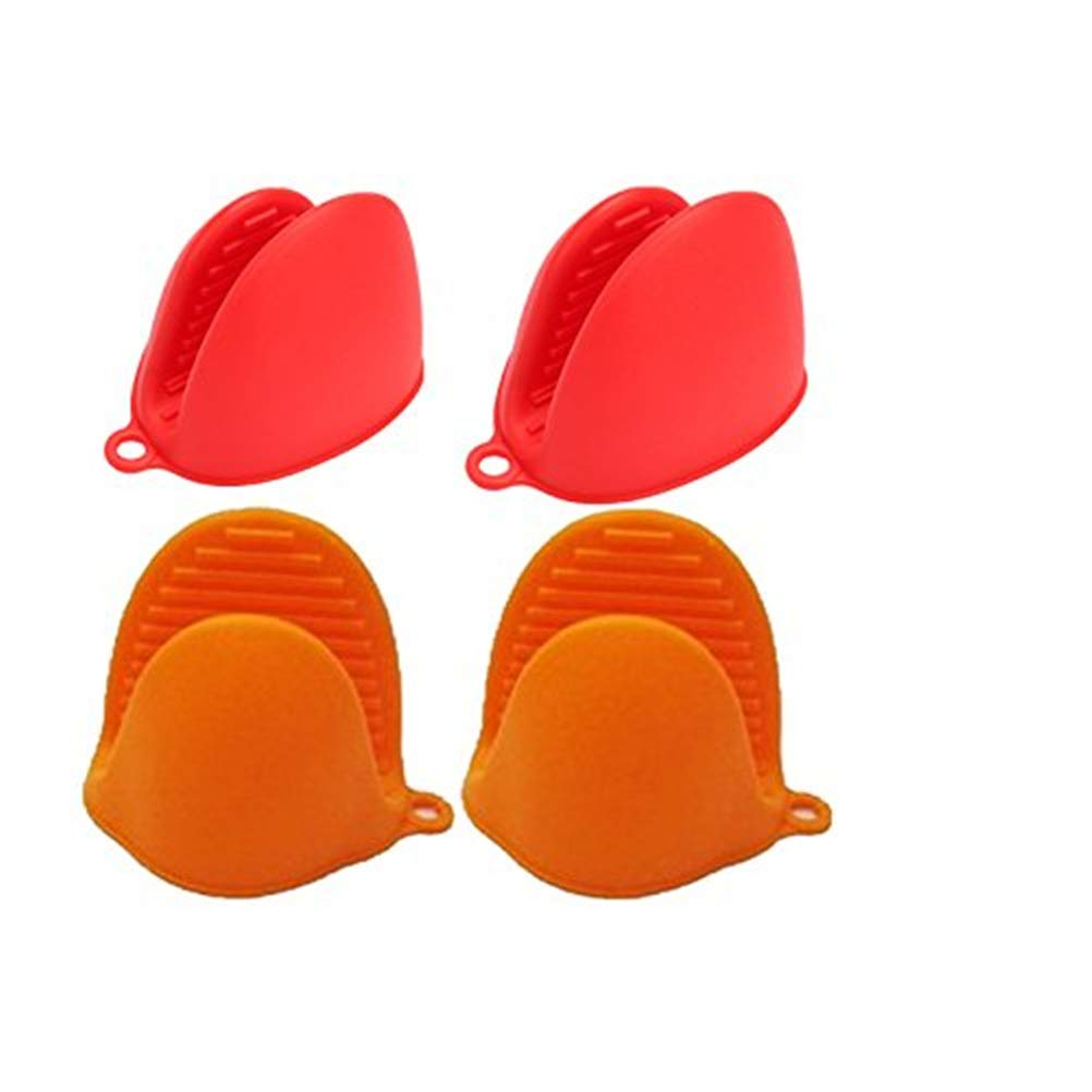 Oven Gloves Mini Silicone Oven Mitts Cooking Pinch Grips Potholders For Baking