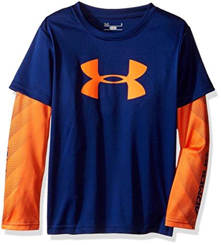 Under Armour Boys Big Logo Slider Shirt