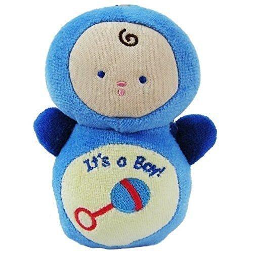 Poupée bébé-Hochet-It's a Boy