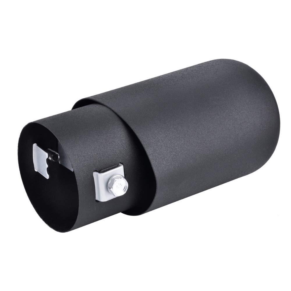 Cubiertas del silenciador del tubo de escape del coche de acero inoxidable universal 1Pcs
