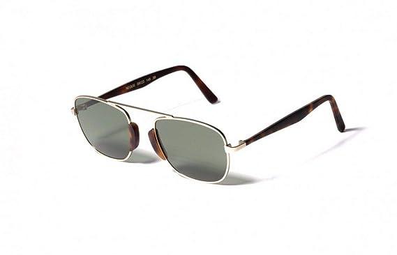 d3fc55d332fe5 L.G.R Sunglasses NEGUS Gold Matt Metal alloy frame 100% UV handmade in italy