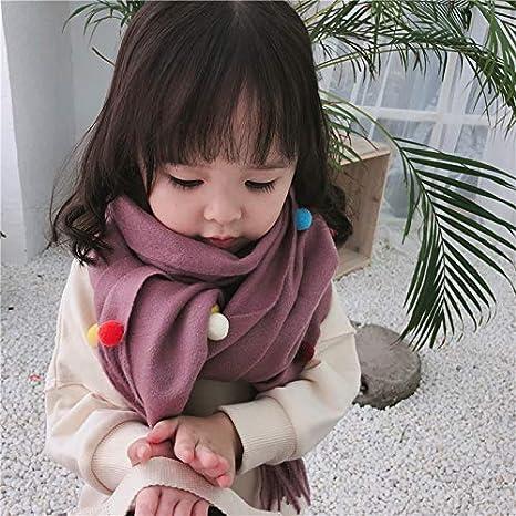 140/cm 40/cm sciarpa per bambine sciarpa alla moda e calda Zedtom Candy colours rosa Pink 140cm*40cm