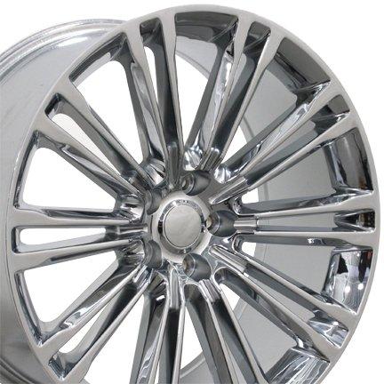 Chrysler Chrome Wheel (20x9 Wheel Fits Chrysler - 300 Style Chrome)