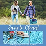 ZOMAKE Picnic Blanket Mat Water Resistant Extra