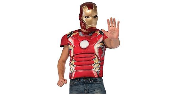 Kit disfraz Iron Man musculoso Vengadores: La Era de Ultrón para ...