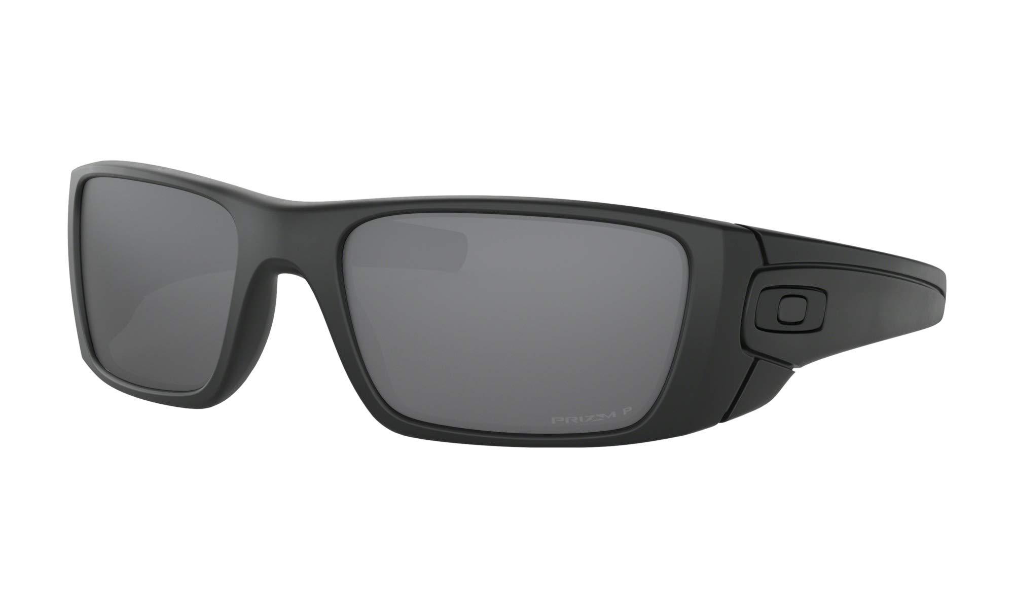 Oakley Men's Standard Issue Fuel Cell Blackside Collection Sunglasses,OS,Matte Black/Prizm Black Polarized by Oakley