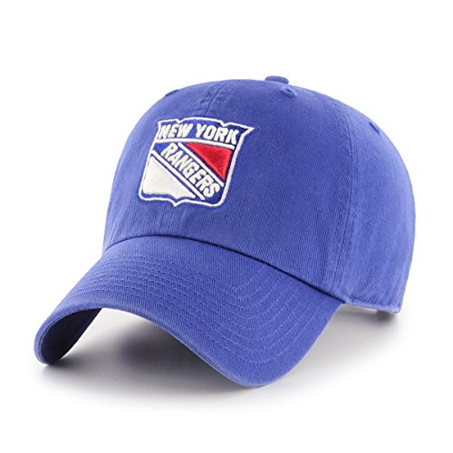 NHL New York Rangers OTS Challenger Adjustable Hat, Royal, One Size