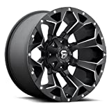 Fuel Offroad D546 Assault 20x9 8x180 +20mm Matte Black/Milled Wheel Rim