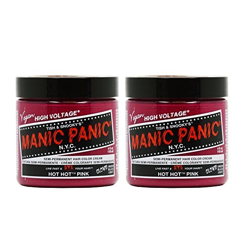 Manic Panic Semi-Permanent Hair Color Cream - Hot Hot Pink 4