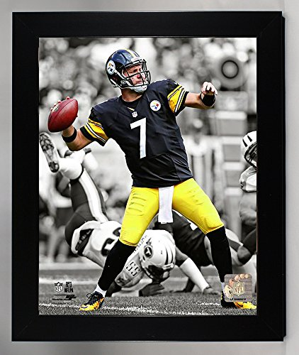 Framed Pittsburgh Steelers Ben Roethlisberger 8x10 Photo, Picture