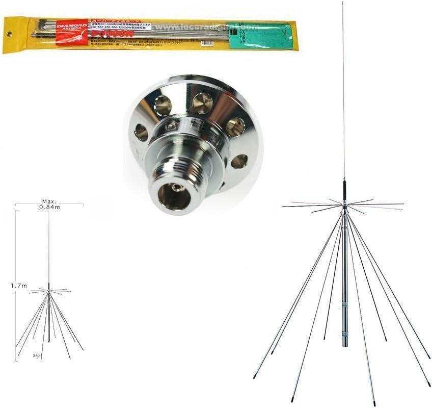 Diamond d-3000n Antena discono Original de 25 a 3000 MHz.