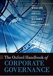 The Oxford Handbook of Corporate Governance Oxford Handbooks ...