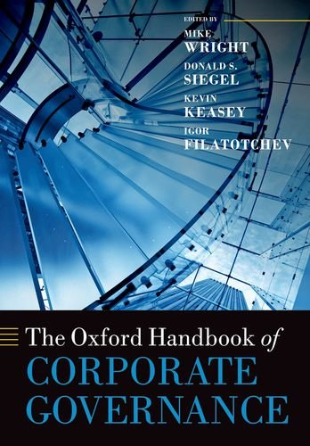 The Oxford Handbook of Corporate Governance (Oxford Handbooks)