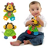 gangnumsky- Baby Infant Cute Lion Plush Toy Dog Soft Appease Stuffed Toy Playmate Calm Doll