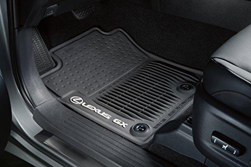 Toyota Genuine Parts PT908-60140-20 OEM Lexus GX460 Black All Weather Floor Mat Set