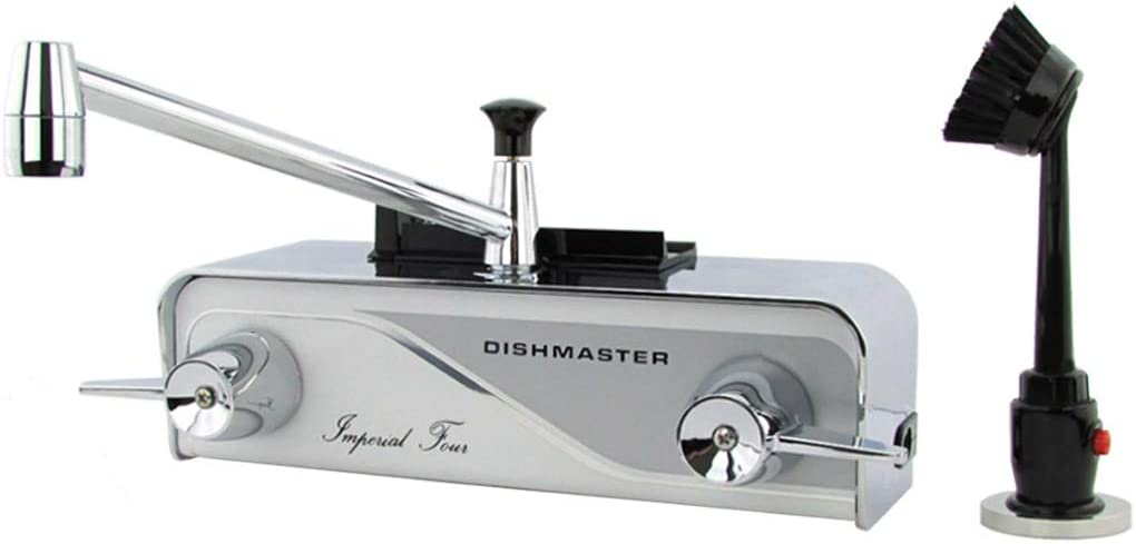 Dishmaster M76XL Imperial Four XL Kitchen Faucet – Chrome