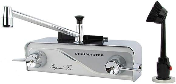 Dishmaster M76XL Imperial Four XL Kitchen Faucet – Chrome