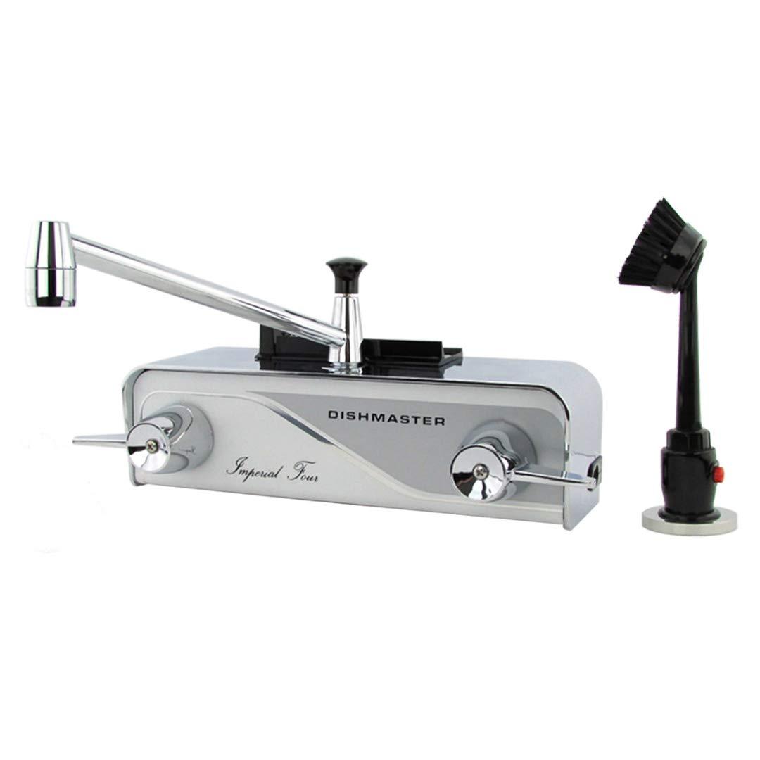 Dishmaster M76XL Imperial Four XL Kitchen Faucet - Chrome