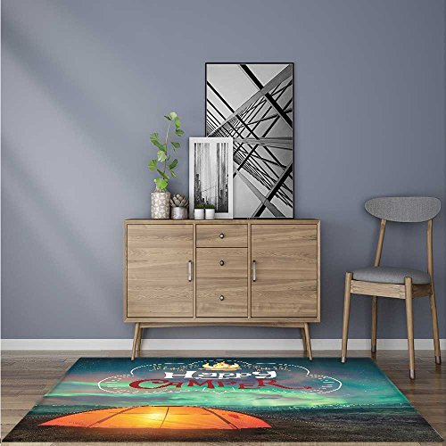 Extra Thick Comfortable Rug Camper Adventure Time Life ntasy Lover Natural Cave Acessories Alternative California for Living Room Dining Room Family W47 x L71 (Lifestyle California Living Room Table)