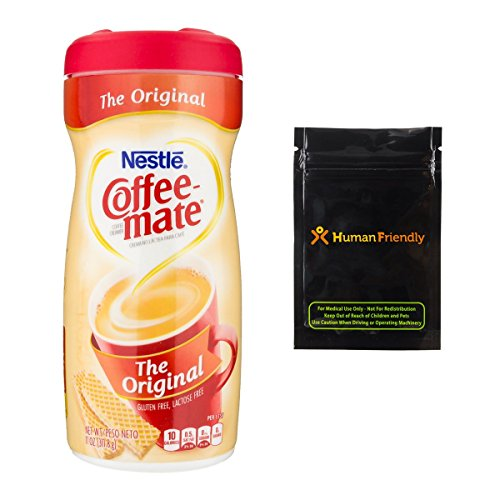 Coffee Mate Creamer Diversion Safe Stash Can w HumanFriendly Smell-Proof Bag by HumanFriendly (Image #1)
