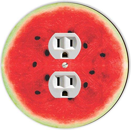 Rikki Knight RND-OUTLET-18 Watermelon Half Round Single O...