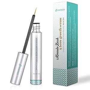 Eyelash & Eyebrow Growth Serum, Eyelash Enhancer Grows Longer, Fuller, Thicker Lashes