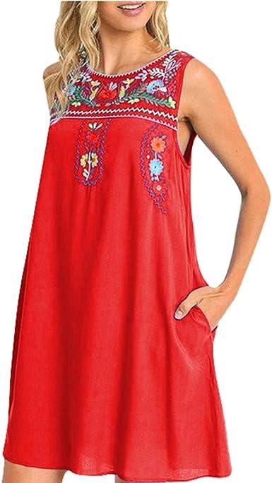 Vestidos De Playa Mujer Nacional Verano Jorich Falda Floral Comodo ...