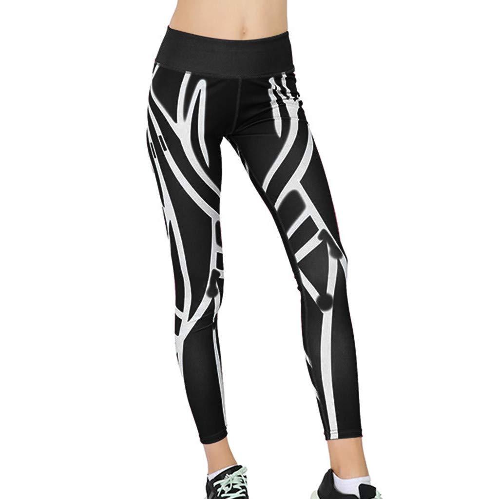 YanHoo - Mallas Cortas para Mujer, Cintura Alta, Pantalones ...