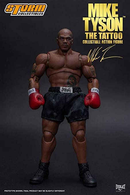 "Storm Collectibles Mike Tyson /""The Tattoo/"" 1//12 Scale Collectible Action Figure"
