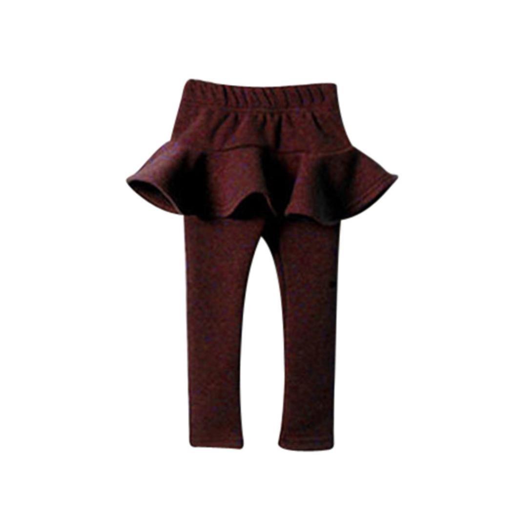 Tenworld Girls Tights, Cute Baby Toddler Girl Pantskirt Legging Pants
