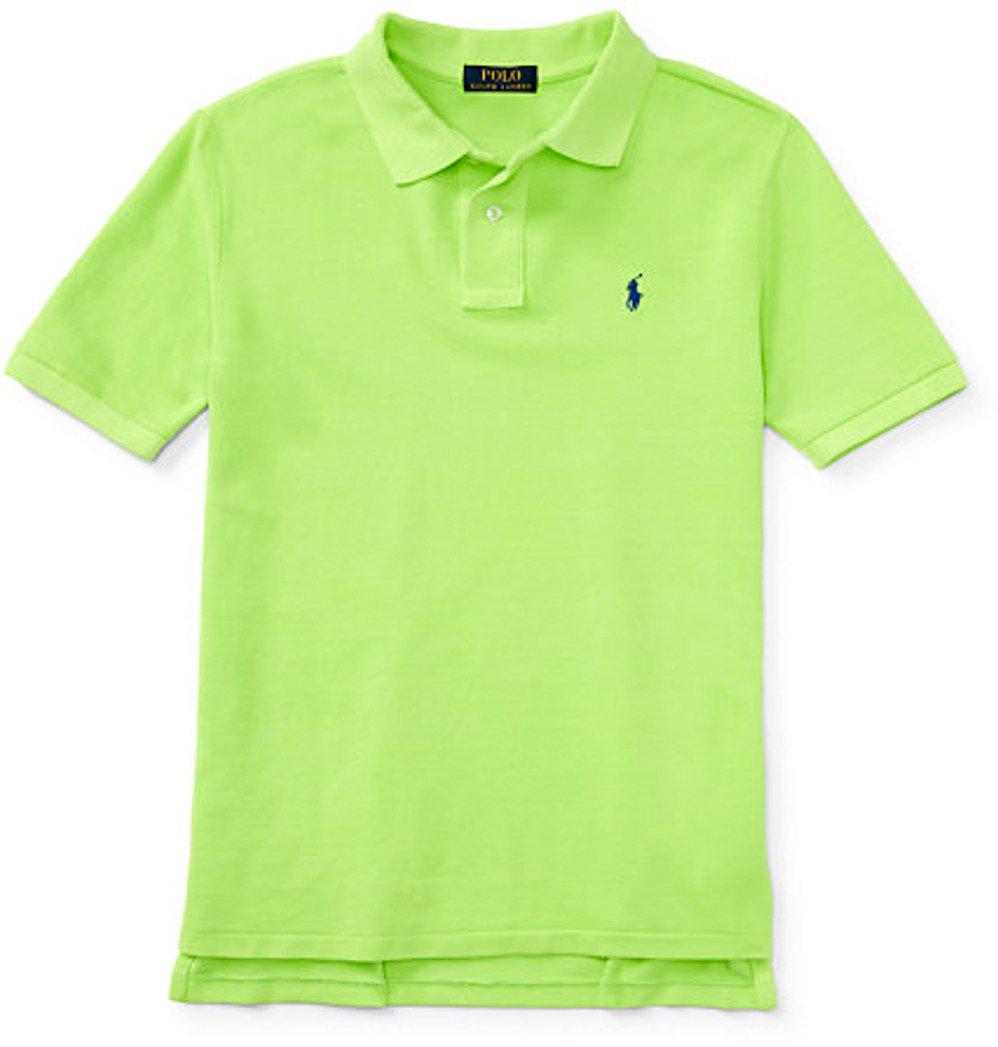 ralph lauren neon polo shirt