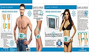 Caldor Shape N Freeze Unwanted Adipose Tissue Away ( Fat Freezer ) Freeze It and Get in Shape and Lose Weight