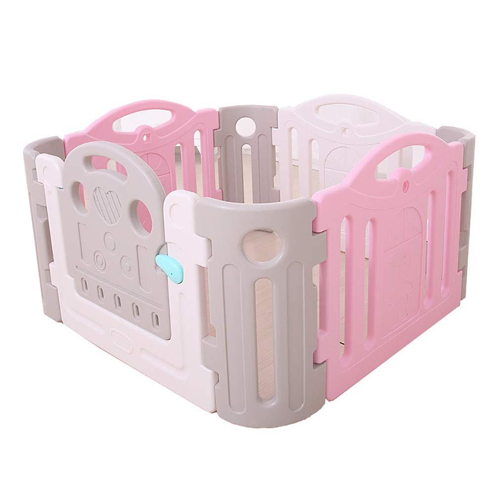 赤ちゃんの囲い 子供のフェンスベビープレイフェンスベビーおもちゃ屋内 (色 : Style2)  Style2 B07JG6YBYN
