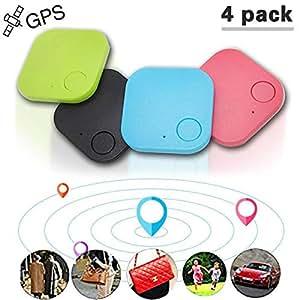 Amazon.com: Briskyii 4 piezas Mini GPS rastreador de coche ...