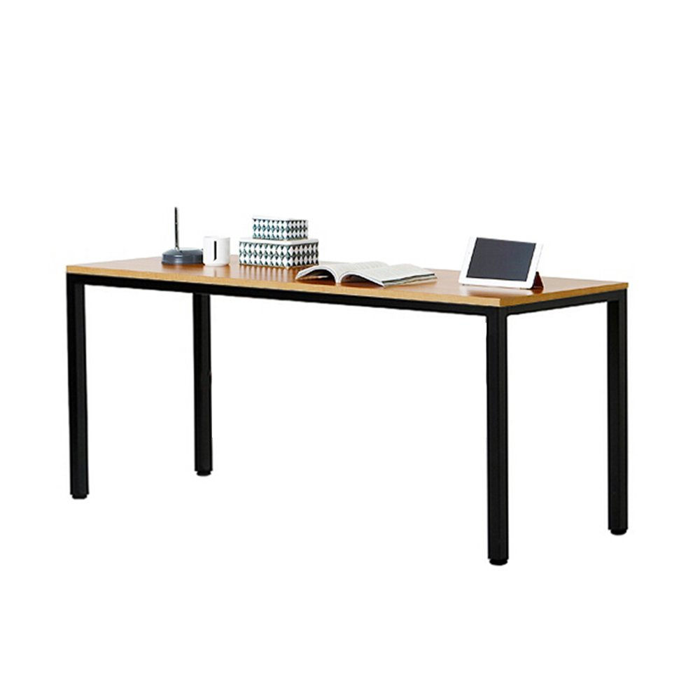 Need Computer Desk 55'' Large Size Office Desk Workstation for Home & Office Use, Teak AC3BB-140