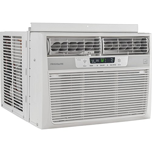 Frigidaire 12 000 btu 115v window mounted compact air for 12000 btu window air conditioner room size