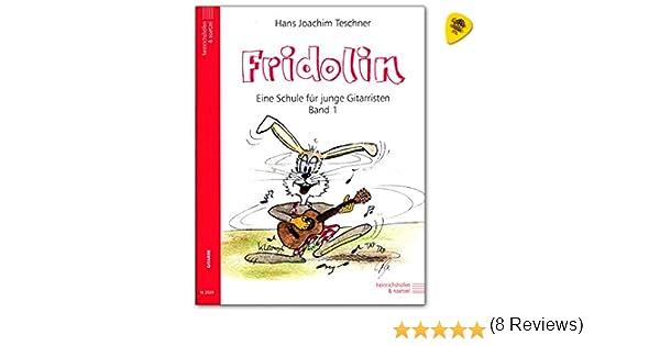 Fridolin banda 1 – Guitarra Colegio para niños con Dunlop Púa ...