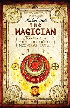 The Magician: The Secrets of The Immortal Nicholas Flamel 0385737289 Book Cover