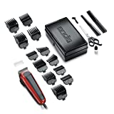 Andis Easy Cut 20-Piece Haircutting Kit, Red/Black (75360)