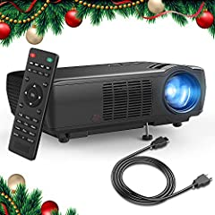 In view of most of our customers' feedback that the 1500 Lumens or 1800 Lumens projector can not satisfy their need. So that TENKER has upgraded the brightness of this projector with 33% more Lumens to offer our customers higher cost-effectiv...